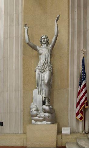 photo of Spirit of Justice sculpture