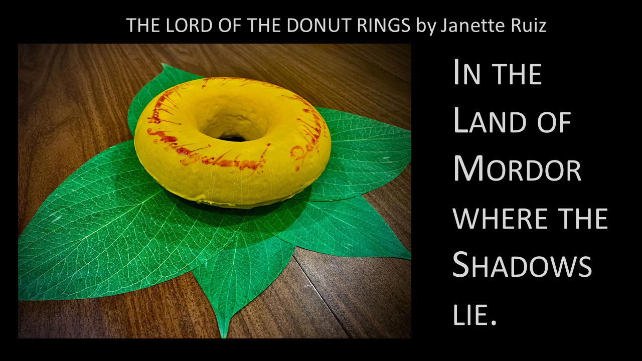 The Lord of the Donut Rings -- One Ring to rule them all,