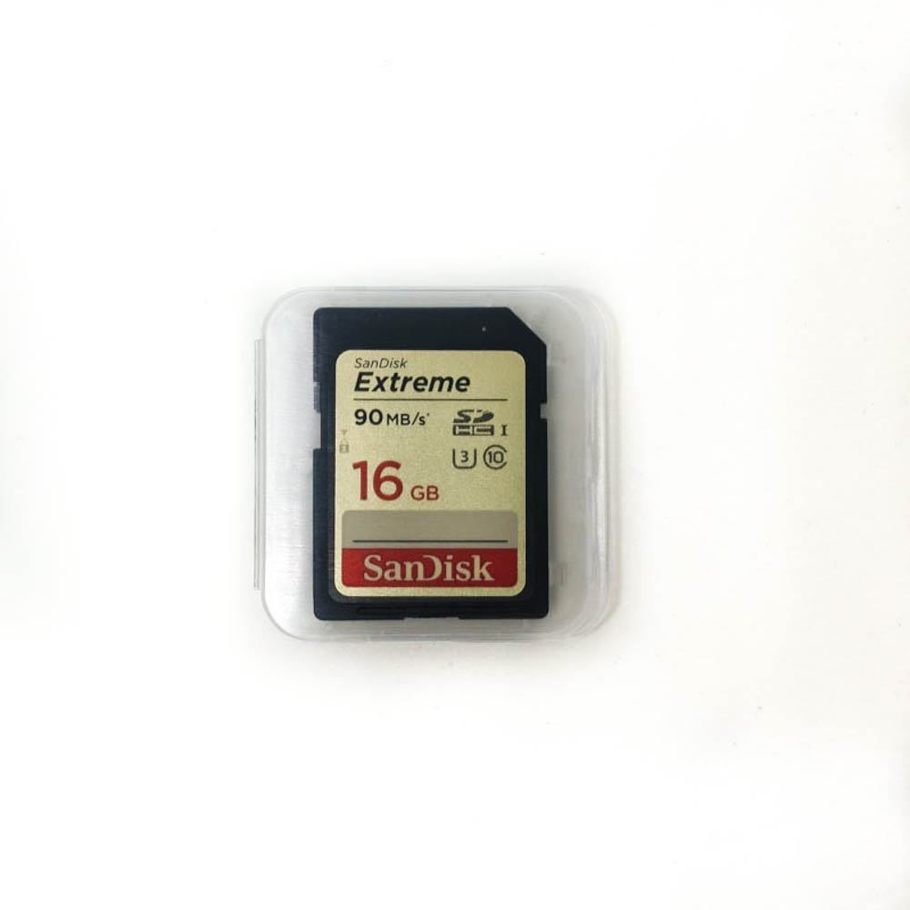 Sixteen Gigabyte SD Card