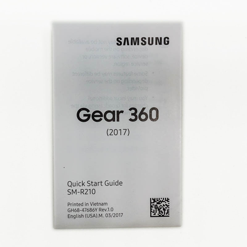 Samsung Gear 360 manual