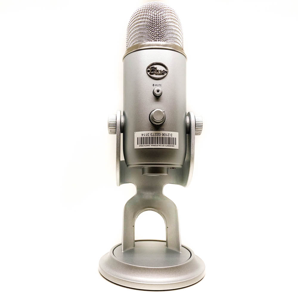 Yeti USB Microphone equipment kit