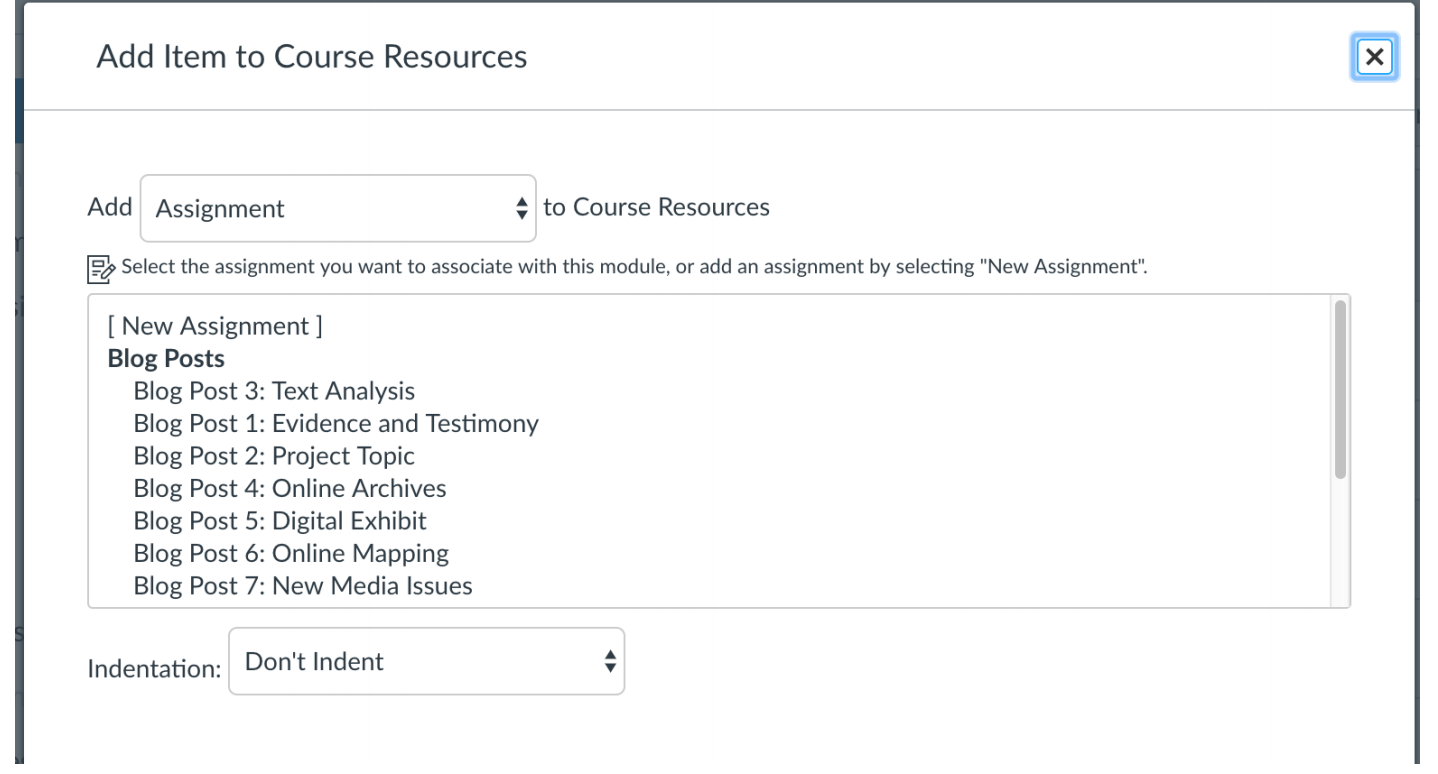 Canvas - add a resource