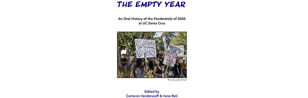 Cover for the book, The Empty Year