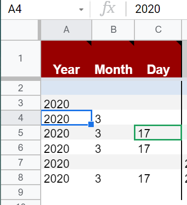 Multiple users on Google Sheets