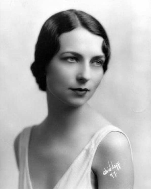Early Headshot Agnes Moorehead
