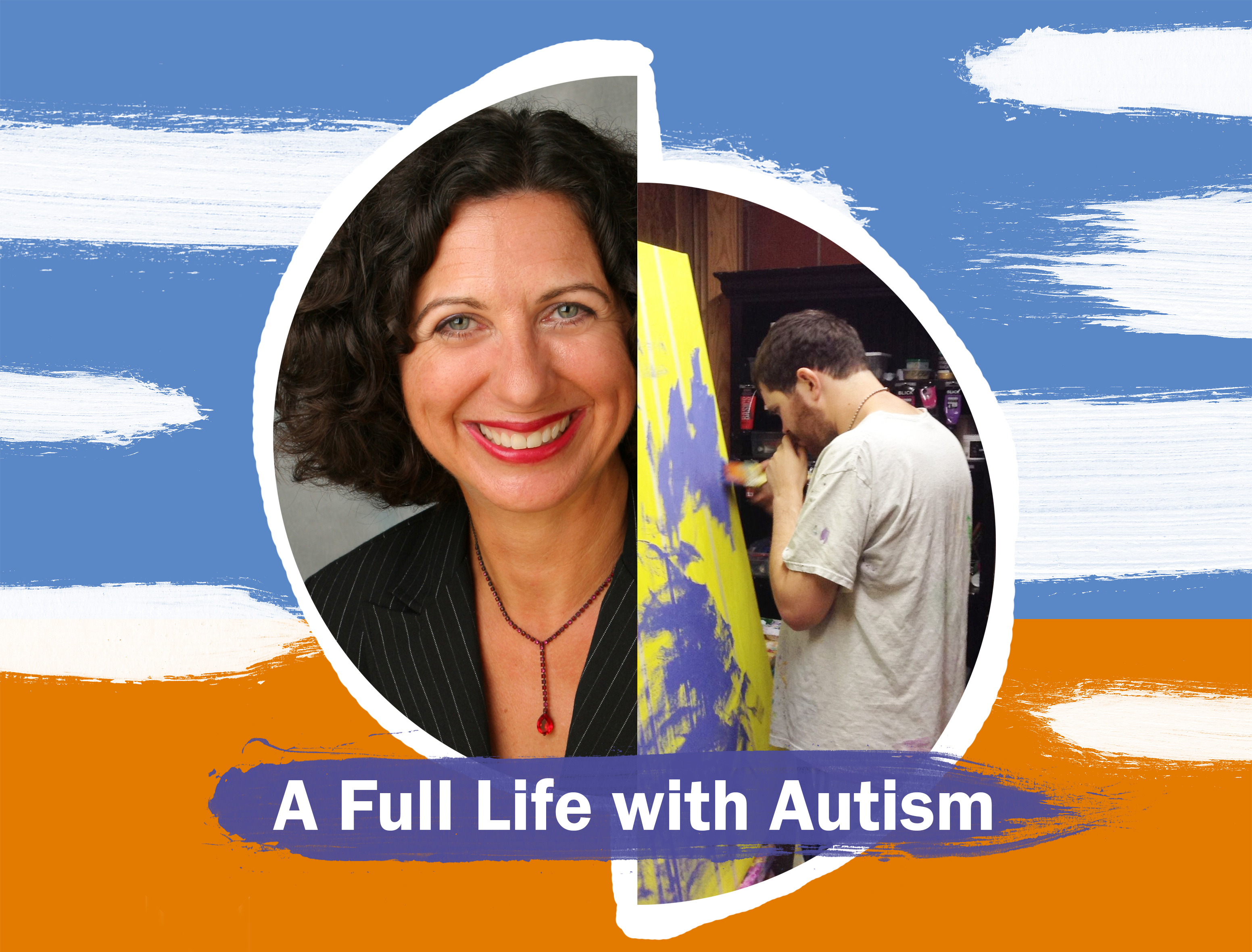 A Full Life with Autism - poster for special event.
