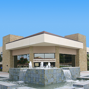 MiraCosta Oceanside Campus Library Entrance