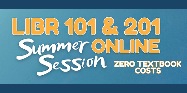 Summer Session - Library 101 and Library 201