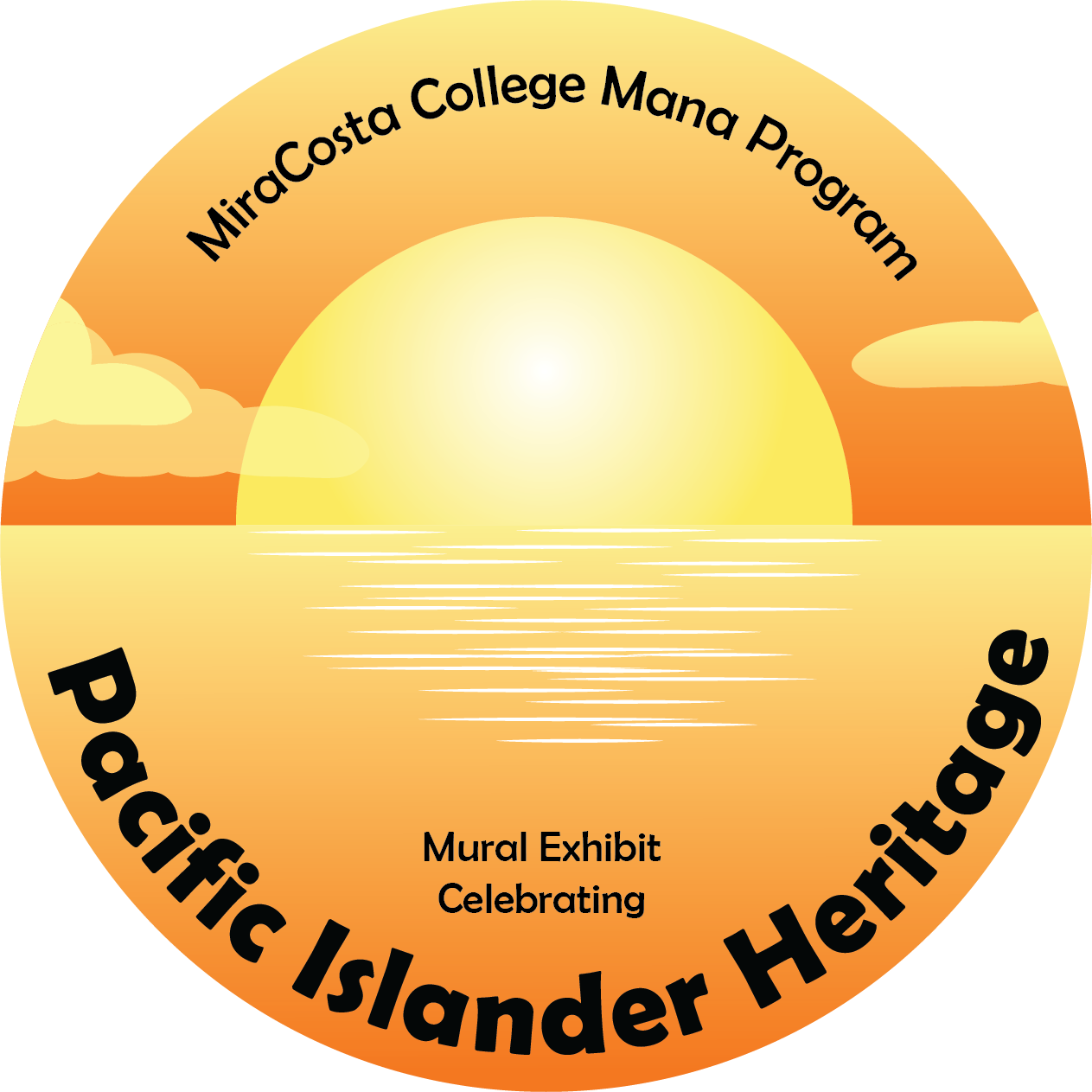 Logo for Exhibit - Pacific Island Heritage Mana Program