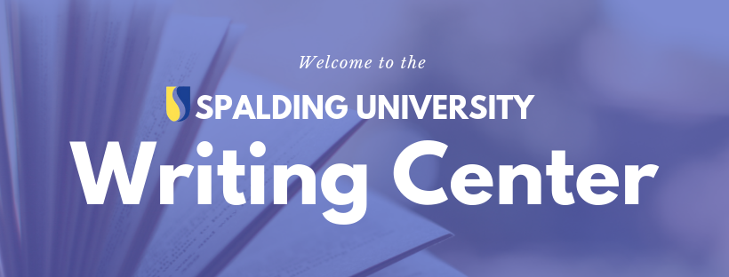 Welcome to the Spalding University Writing Center Banner