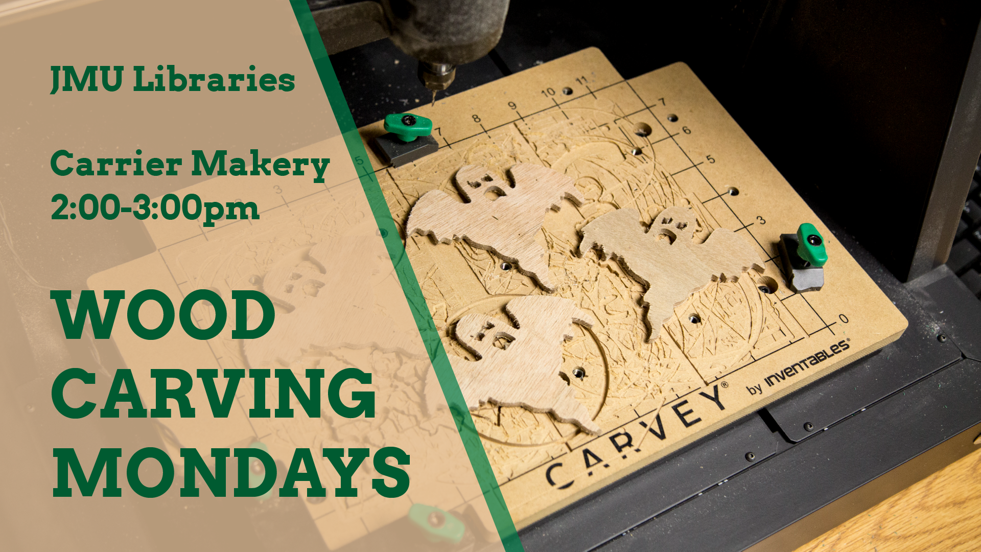 Wood Carving Mondays
