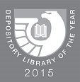 2015 Depository Library of the Year emblem