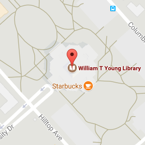 Google map of Young Library location