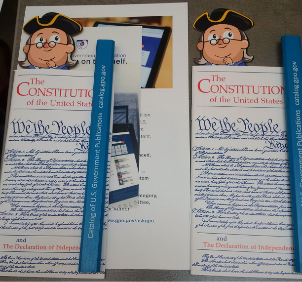 Pocket Constitution and educational materials