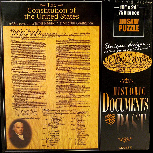 Constitution jigsaw puzzle