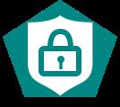 Allows storage of sensitive data