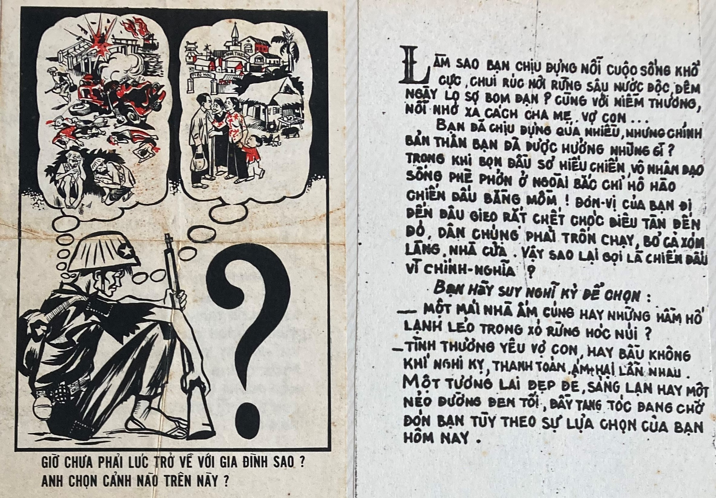 cartoon and text in vietnamese