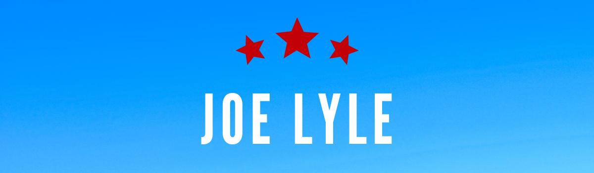 joe lyle's banner
