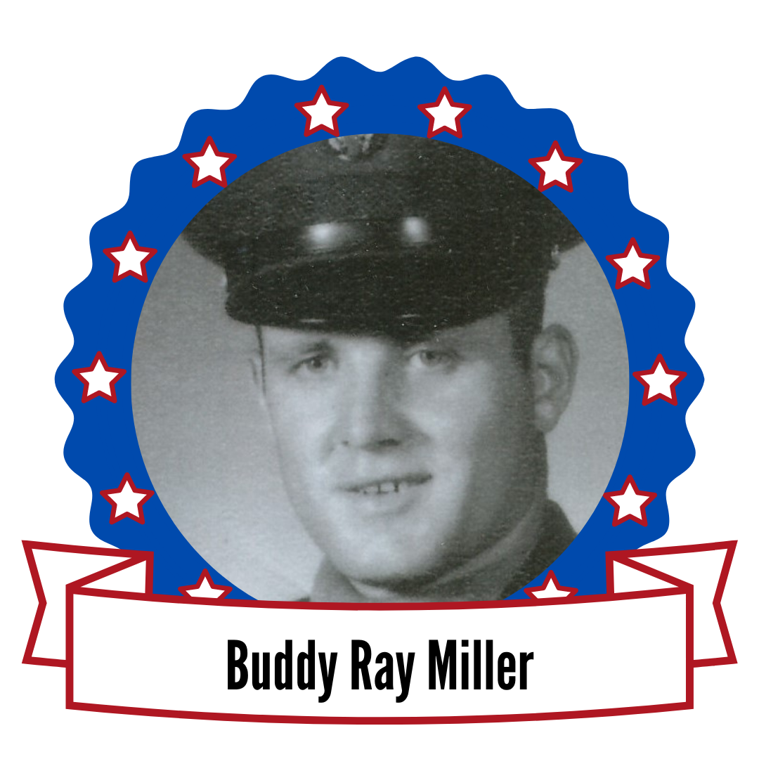 Buddy Ray Miller's photo surrounded by stars