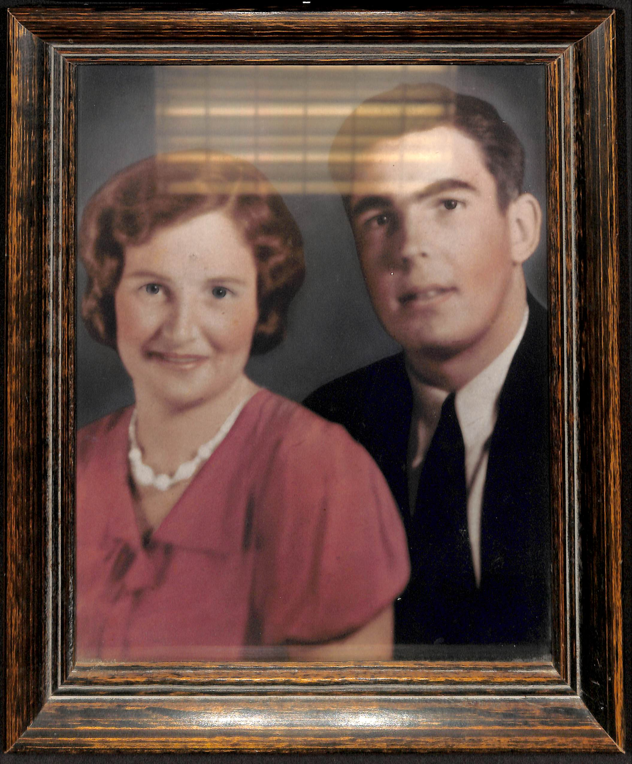 color photo of young man and woman