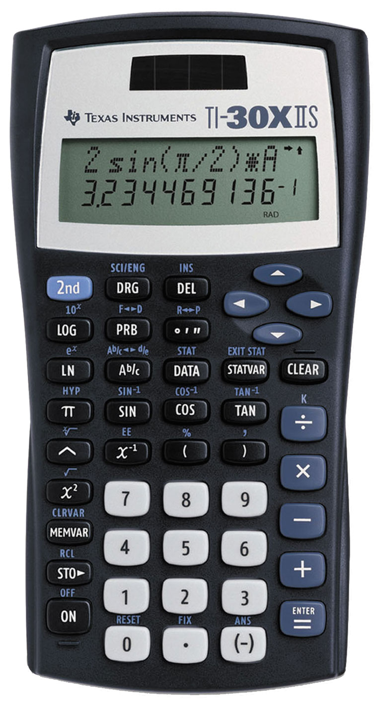 Calculator: Texas Instruments