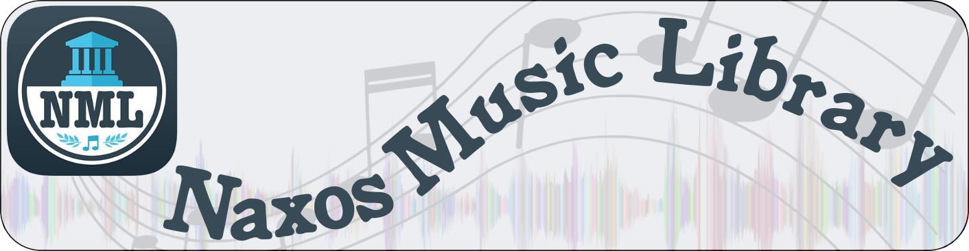 Banner image for the Naxos Music Library streaming music database