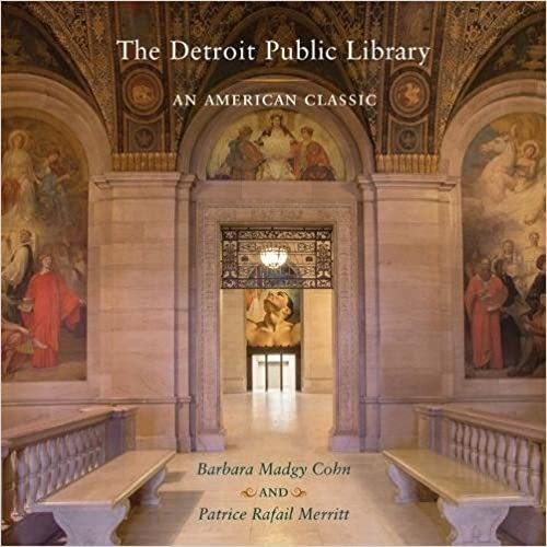 Photo of the inside of the Detroit Public Library