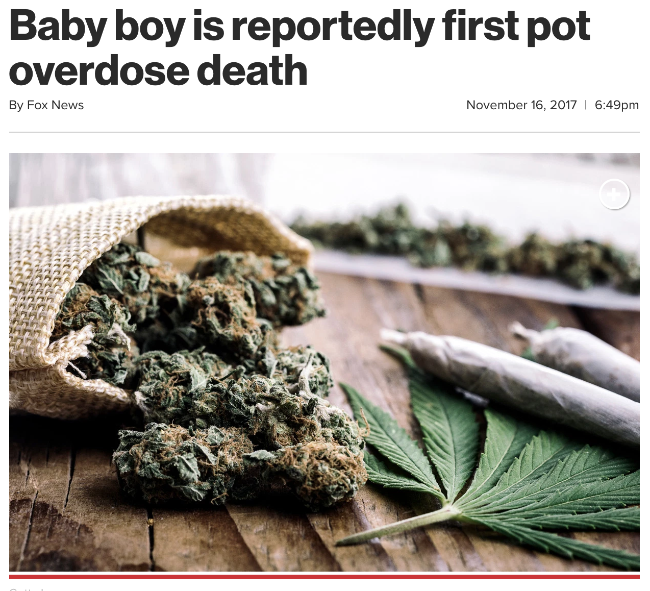baby boy is reportedly first pot overdose death