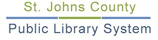 Logo for St. Johns County Public Library