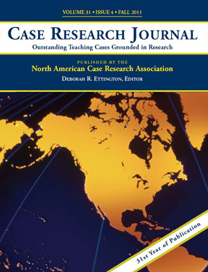Case Research Journal Front Cover