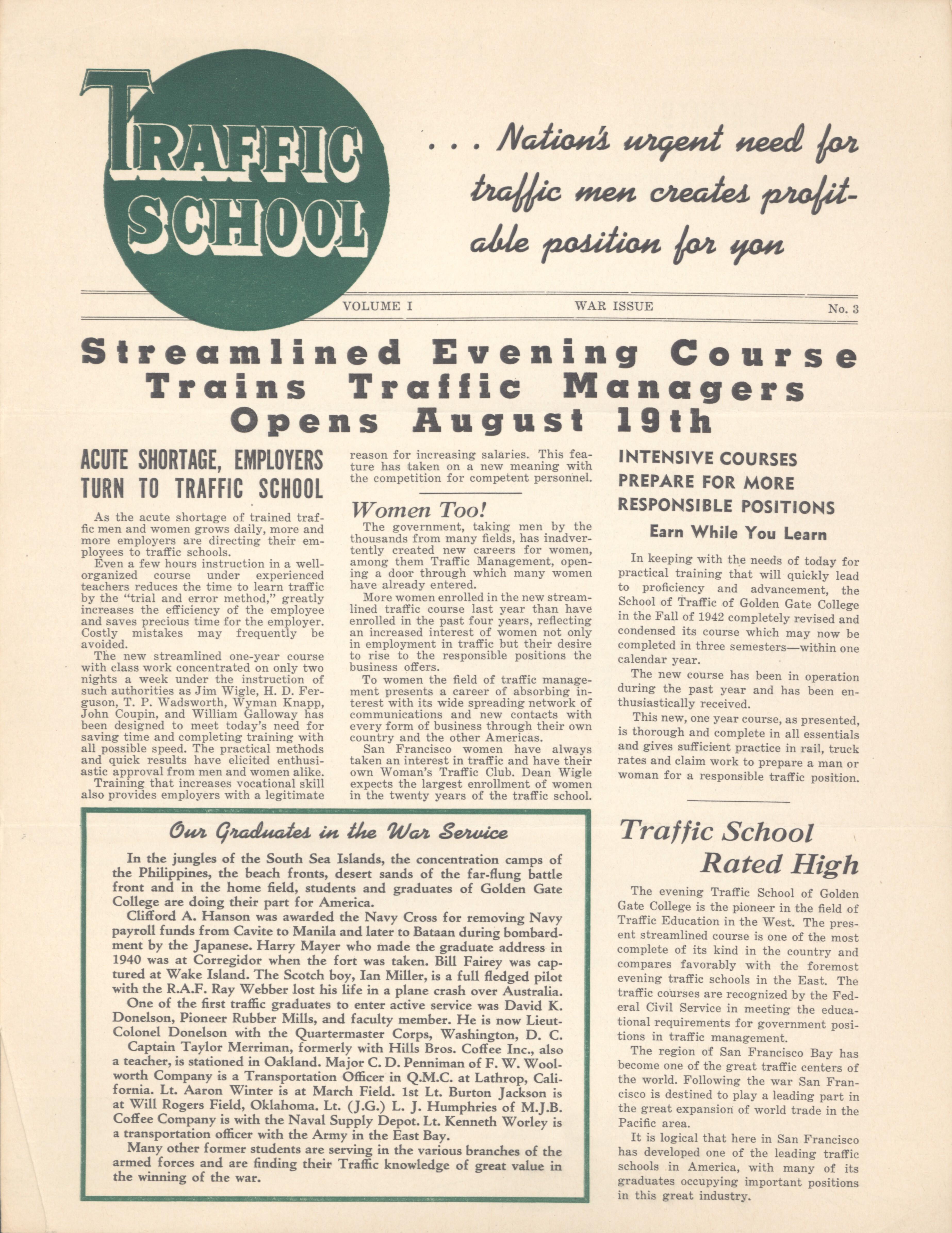 1940s WWII Era Newsletters