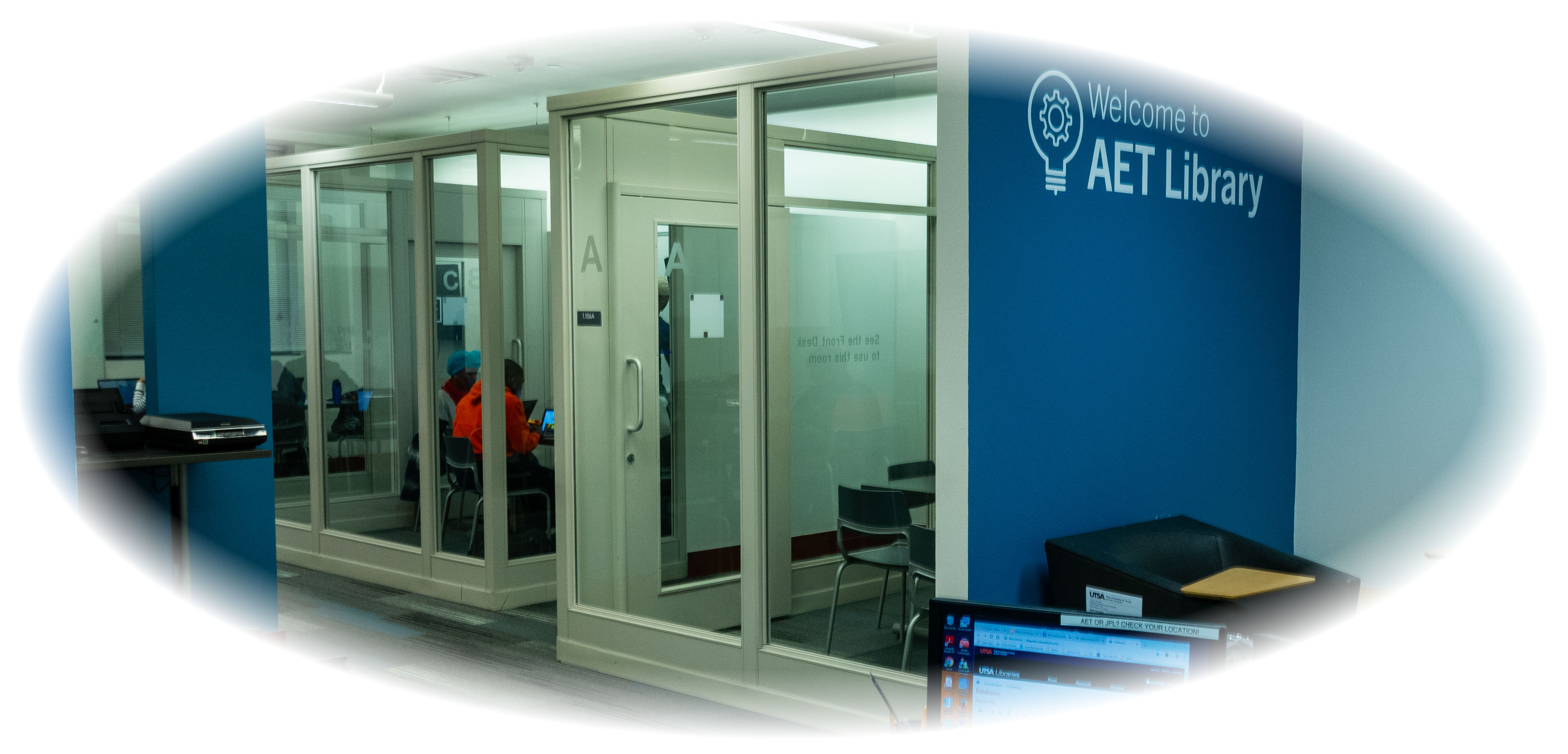 AET Library Entrance