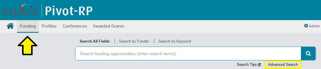 Pivot funding page