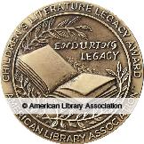Children's Literature Legacy Award medal