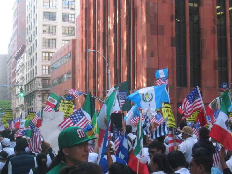Photo of 2006 Immigrant Rights March