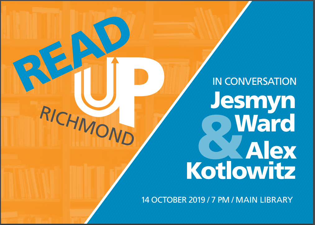 Jesmyn Ward & Alex Kotlowitz in Conversation