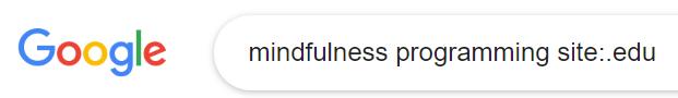 minfulness site search