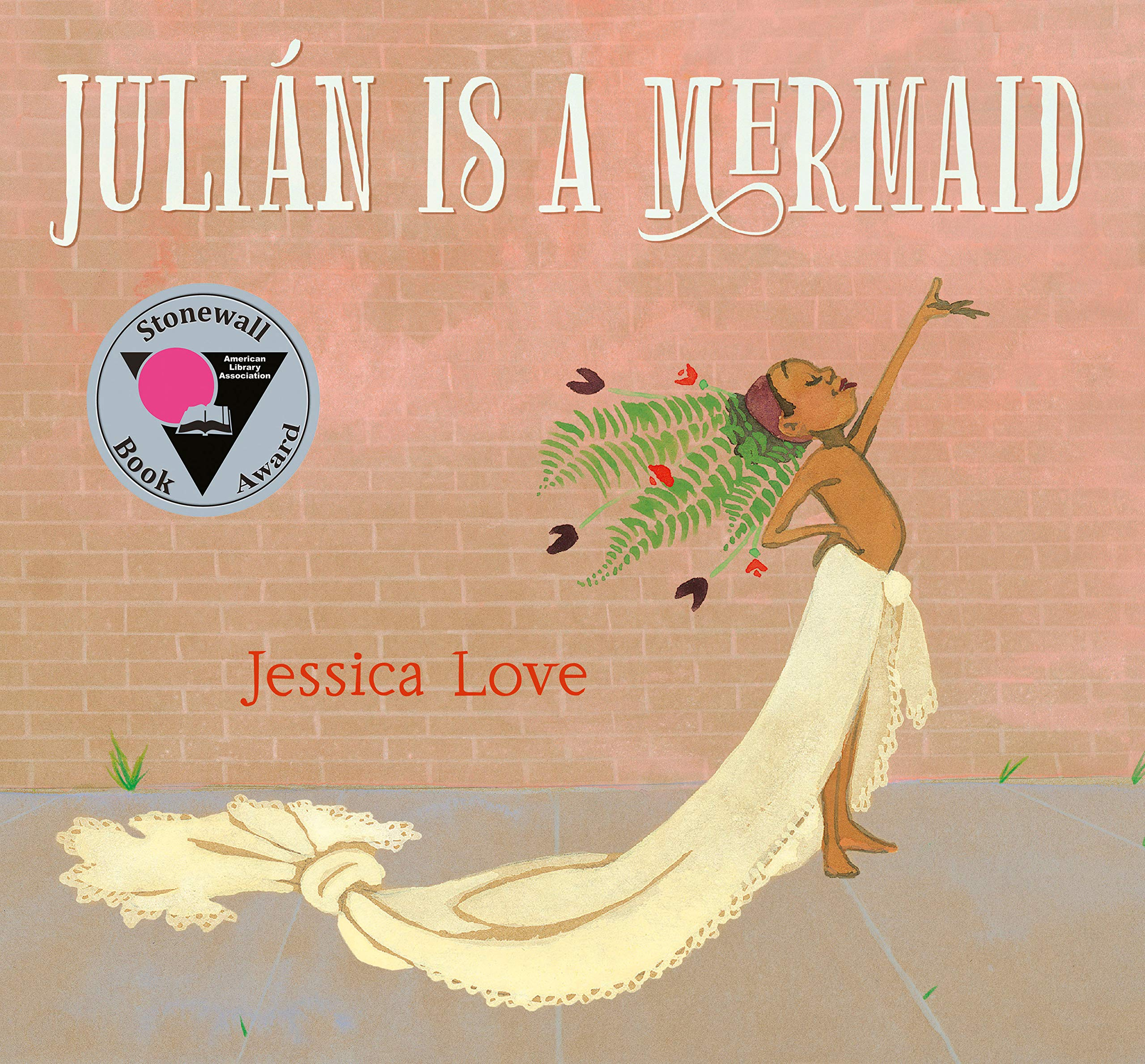 Book Cover for Julian is a Mermaid