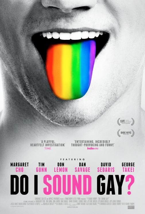 Film Poster for Do I Sound Gay?