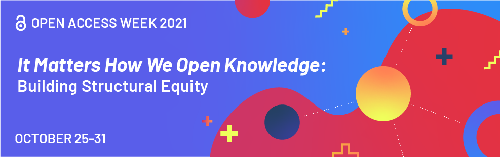Open Access Week 2021 logo