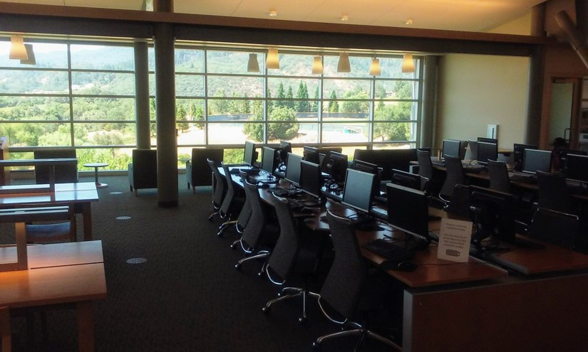computers at the library