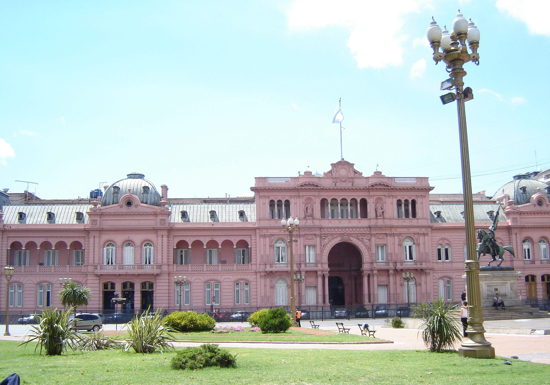 Casa Rosada Executive Mansion in Buenos Aires, Argentina