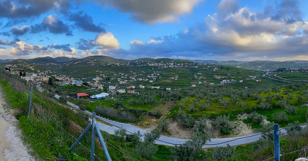 Countryside of the West Bank, Palestine
