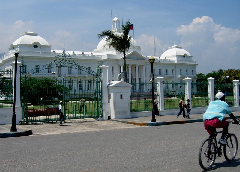 Palais National in Port-Au-Prince, Haiti