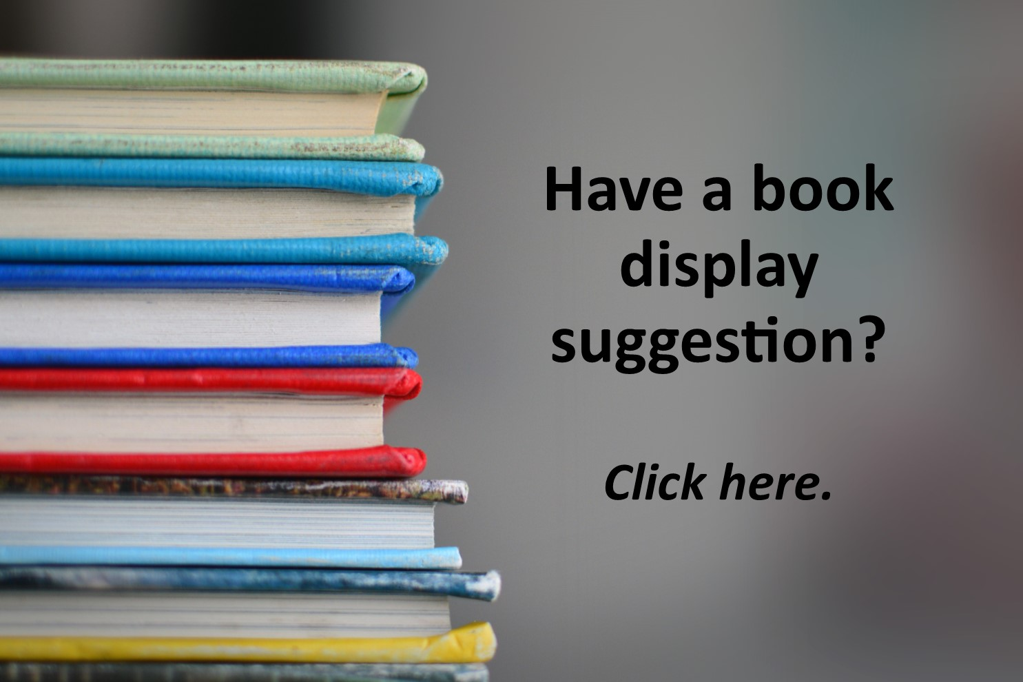 Book display suggestions