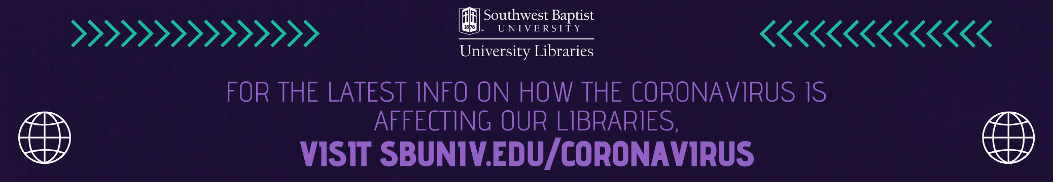 Click to learn how our libraries are affected by COVID-19