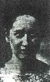Newspaper clipping of picture of Janina Banas