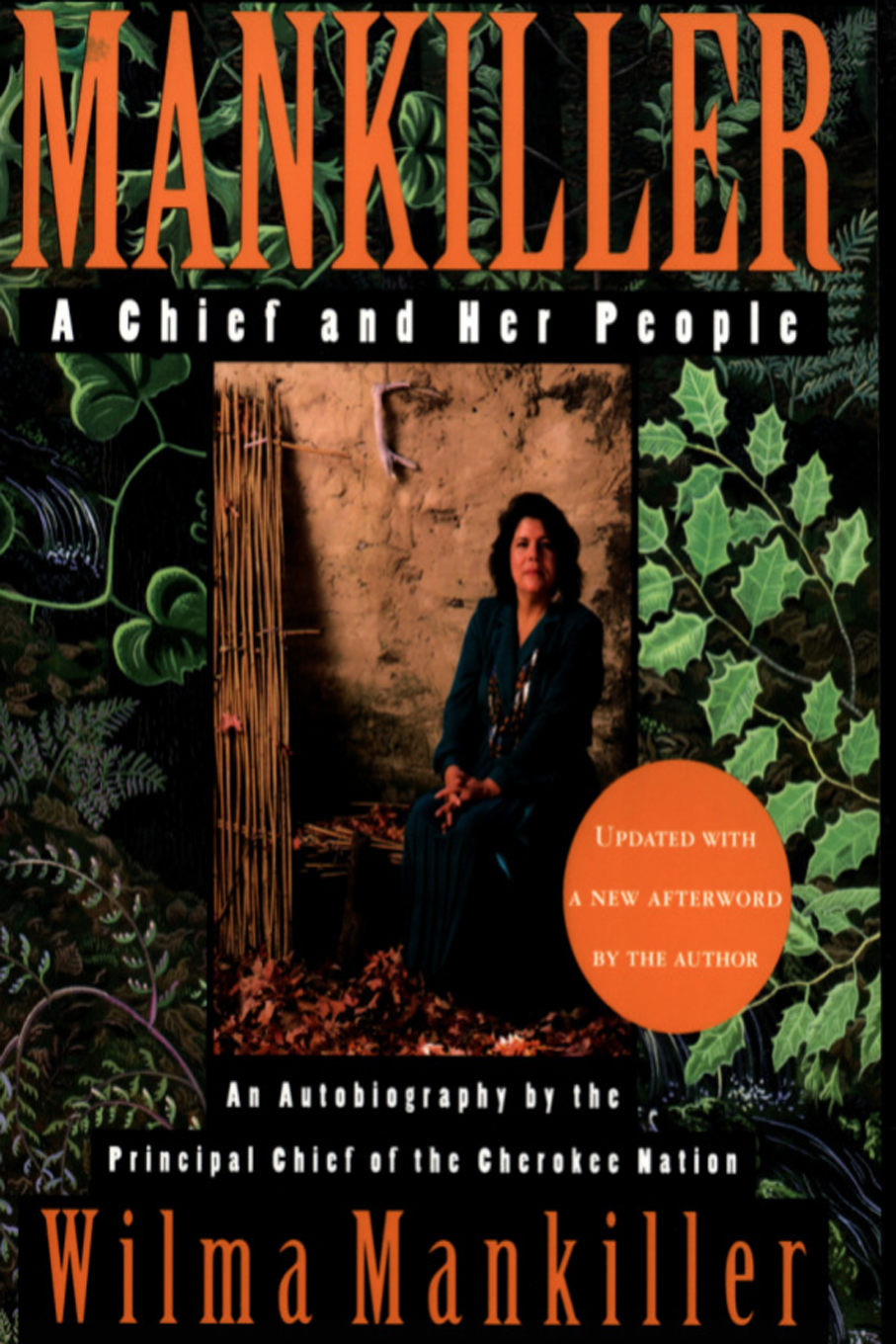 The book, Wilma Mankiller a Chief and her People