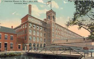 American Woolen Company Lawrence, Ma