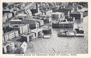 Lowell Flood - 1936